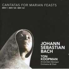 Johann Sebastian Bach (1685-1750): Kantaten BWV 1,125,161, CD