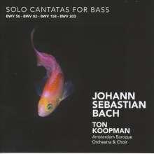 Johann Sebastian Bach (1685-1750): Kantaten BWV 56,82,158,203, CD