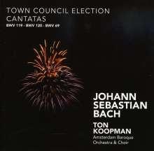 Johann Sebastian Bach (1685-1750): Kantaten BWV 69,119,120, 2 CDs