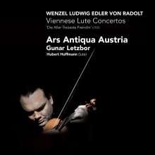 Wenzel Ludwig von Radolt (1667-1716): Wiener Lautenkonzerte c-moll, e-moll, F-Dur, G-Dur, CD