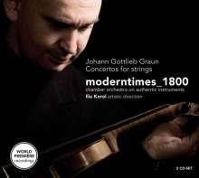 Johann Gottlieb Graun (1703-1771): Concerti, 2 CDs