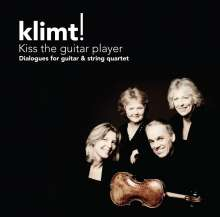 Klimt! - Kiss The Guitar Player, CD