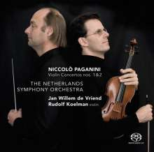 Niccolo Paganini (1782-1840): Violinkonzerte Nr.1 & 2, Super Audio CD