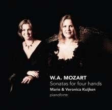 Wolfgang Amadeus Mozart (1756-1791): Klaviersonaten zu vier Händen KV 448,497,521, SACD