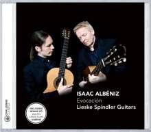 Isaac Albeniz (1860-1909): Werke für Gitarrenduo - Evocation, CD