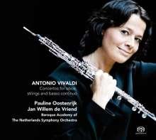 Antonio Vivaldi (1678-1741): Oboenkonzerte RV 450,454,455,457,461,463, Super Audio CD