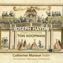 Joseph Haydn (1732-1809): Orgelkonzerte H.18 Nr.1,2,6, CD