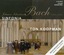Johann Sebastian Bach (1685-1750): Sinfonias & Instrumentalsätze aus Kantaten, 3 CDs