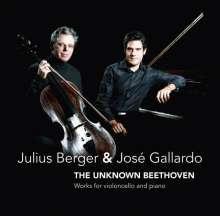 Julius Berger & Jose Gallardo - The unknown Beethoven, CD