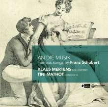 """Franz Schubert (1797-1828): Lieder - """"An den Mond"""", CD"""