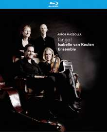 Astor Piazzolla (1921-1992): Tango!, 1 Blu-ray Disc und 1 CD