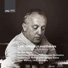 Karl Amadeus Hartmann (1905-1963): Simplicius Simplicissimus, 2 Super Audio CDs