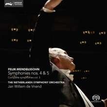Felix Mendelssohn Bartholdy (1809-1847): Sämtliche Symphonien Vol.3, SACD