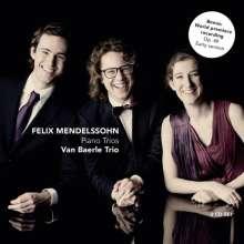 Felix Mendelssohn Bartholdy (1809-1847): Klaviertrios Nr.1 & 2, 2 CDs