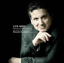 Carl Philipp Emanuel Bach (1714-1788): Klaviersonaten, Fantasien & Rondo, CD
