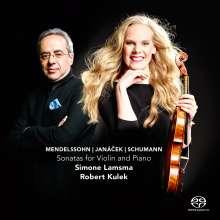 Simone Lamsma - Mendelssohn / Janacek / Schumann, Super Audio CD
