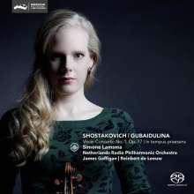 "Sofia Gubaidulina (geb. 1931): Violinkonzert ""In Tempus praesens"", SACD"