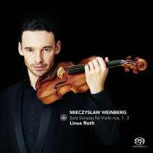 Mieczyslaw Weinberg (1919-1996): Sonaten für Violine solo Nr.1-3, SACD