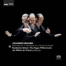 Johannes Brahms (1833-1897): Serenade Nr.1, Super Audio CD
