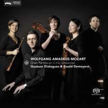 Wolfgang Amadeus Mozart (1756-1791): Serenade Nr.10 für Klavier, Oboe, Streichtrio, Super Audio CD
