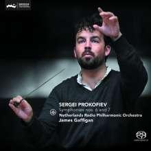 Serge Prokofieff (1891-1953): Symphonien Nr.6 & 7, SACD