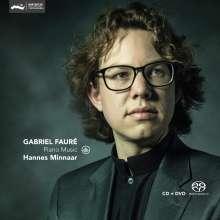Gabriel Faure (1845-1924): Klavierwerke, 1 Super Audio CD und 1 DVD