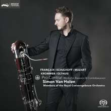 Simon van Holen - Pro Contra! (Werke für Fagott & Kontrafagott), SACD