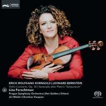 Erich Wolfgang Korngold (1897-1957): Violinkonzert op.35, SACD