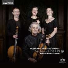 Wolfgang Amadeus Mozart (1756-1791): Klavierquartette Nr.1 & 2, Super Audio CD
