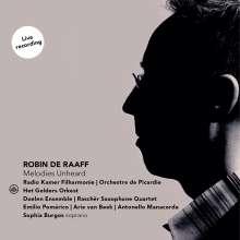 Robin de Raaff (geb. 1968): Symphonien Nr.1,2,4, CD
