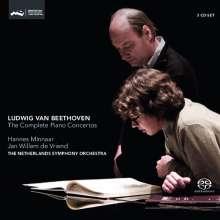 Ludwig van Beethoven (1770-1827): Klavierkonzerte Nr.1-5, 3 Super Audio CDs
