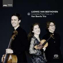 Ludwig van Beethoven (1770-1827): Klaviertrios Vol.1, Super Audio CD