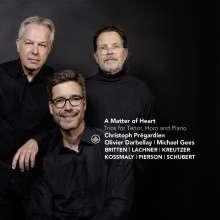 Christoph Pregardien - A Matter of Heart, CD