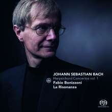 Johann Sebastian Bach (1685-1750): Cembalokonzerte Vol.1, Super Audio CD