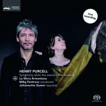 """Henry Purcell (1659-1695): Musik für das Theater - """"Symphony while the swans come forward"""", Super Audio CD"""