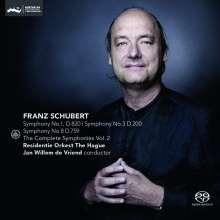 Franz Schubert (1797-1828): Symphonien Vol.2, Super Audio CD