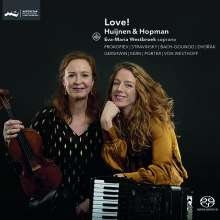 Love! Huijnen & Grotenhuis - Musik für Violine & Akkordeon, SACD