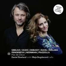 Daniel Rowland & Maja Bogdanovic - Pas de Deux, CD