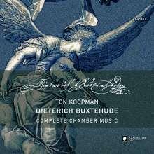 Dieterich Buxtehude (1637-1707): Sämtliche Kammermusik, 3 CDs