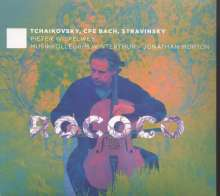 Peter Iljitsch Tschaikowsky (1840-1893): Rokoko-Variationen op.33 für Cello & Orchester, CD