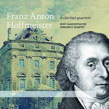 Franz Anton Hoffmeister (1754-1812): Klarinettenquartette Nr.1-6, CD