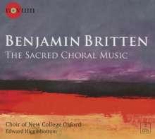 Benjamin Britten (1913-1976): Geistliche Chorwerke, 2 CDs