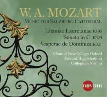 New College Choir Oxford - W.A. Mozart (Music for Salzburg Cathedral), CD