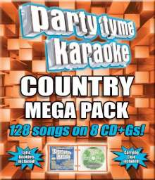 Sybersound: Country Mega Pack, 8 CDs