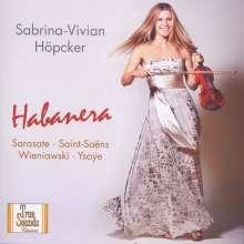 Sabrina-Vivian Höpcker - Habanera, CD