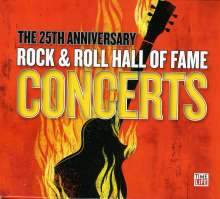 25th Anniversary Rock & Roll Hall Of Fame Concerts Vol. 1&2, 4 CDs
