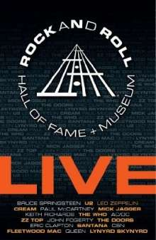 Rock & Roll Hall Of Fame + Museum (Live), 3 DVDs