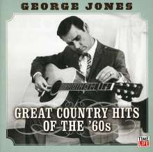 George Jones (1931-2013): Great Country Hits Of The 60s, CD