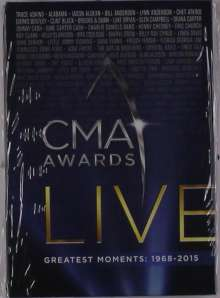 CMA Awards Live: Greatest Moments 1968 - 2015, 10 DVDs