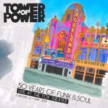Tower Of Power: 50 Years Of Funk & Soul: Live At The Fox Theater, 2 CDs und 1 DVD